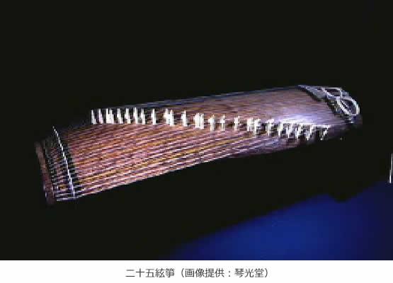 二十五絃箏
